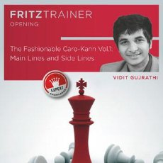 Coleccionismo deportivo: AJEDREZ. CHESS. THE FASHIONABLE CARO-KANN VOL. 1 MAIN LINES AND SIDE LINES - VIDIT GUJRATHI DVD-ROM. Lote 84317720