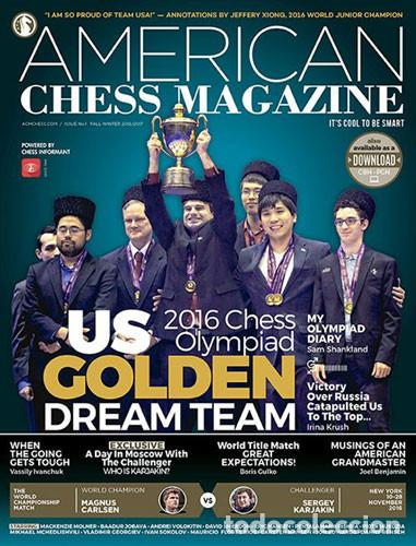 Coleccionismo deportivo: Ajedrez. American Chess Magazine. Issue no. 1 - 2016 - The Chess Informant Team - Foto 1 - 85668614