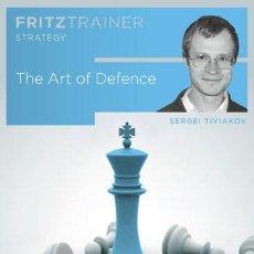 Coleccionismo deportivo: AJEDREZ. CHESS. THE ART OF DEFENCE - SERGEY TIVIAKOV. Lote 84329676