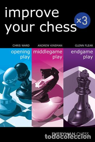 Coleccionismo deportivo: Ajedrez. Improve Your Chess x 3 - Chris Ward/Andrew Kinsman/Glenn Flear - Foto 1 - 86321200