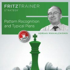 Coleccionismo deportivo: AJEDREZ. CHESS. PATTERN RECOGNITION AND TYPICAL PLANS - ADRIAN MIKHALCHISHIN DVD-ROM. Lote 86397196