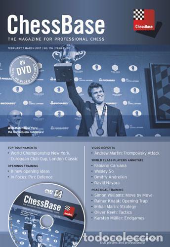 AJEDREZ. CHESS. CHESSBASE MAGAZINE 176 - THE CHESSBASE TEAM DVD-ROM (Coleccionismo Deportivo - Libros de Ajedrez)