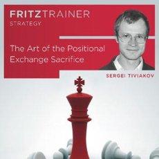 Coleccionismo deportivo: AJEDREZ. CHESS. THE ART OF THE POSITIONAL EXCHANGE SACRIFICE - SERGEY TIVIAKOV DVD-ROM. Lote 86681068