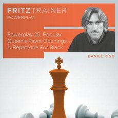 Coleccionismo deportivo: AJEDREZ. CHESS. POWER PLAY 25. POPULAR QUEEN'S PAWN OPENINGS – A REPERTOIRE FOR BLACK - DANIEL KING. Lote 86815016