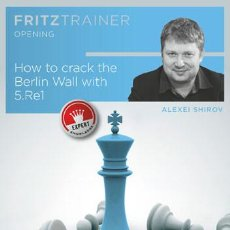 Coleccionismo deportivo: AJEDREZ. CHESS. HOW TO CRACK THE BERLIN WALL WITH 5.RE1 - ALEXEI SHIROV DVD-ROM. Lote 87040712