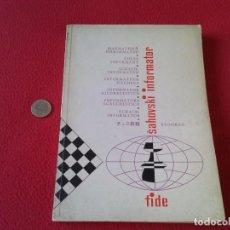 Coleccionismo deportivo: LIBRO DE AJEDREZ CHESS BOOK SAHOVSKI INFORMATOR FIDE 25 1978 PARTIDAS MAESTROS GAMES VER FOTO/S Y DE. Lote 88832080