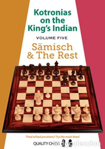 AJEDREZ. CHESS. KOTRONIAS ON THE KING'S INDIAN - VOLUME 5 SAEMISCH AND THE REST - VASSILIOS KOTRONI (Coleccionismo Deportivo - Libros de Ajedrez)