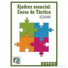 Coleccionismo deportivo: AJEDREZ ESENCIAL. CURSO DE TÁCTICA - MIGUEL ILLESCAS/EQUIPO EDAMI. Lote 89564096