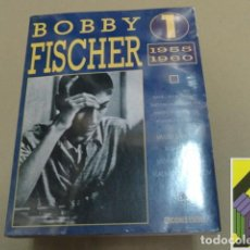 Coleccionismo deportivo: VARIOS AUTORES:	BOBBY FISCHER 1. 1955-1960. GAMES ANNOTATED BY VASSILY SMYSLOV,MIJAIL TAHL, .... Lote 89835068