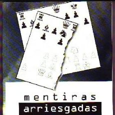 Coleccionismo deportivo: MENTIRAS ARRIESGADAS EN AJEDREZ. COMAS FABREGO, LLUIS DP-132. Lote 90051148