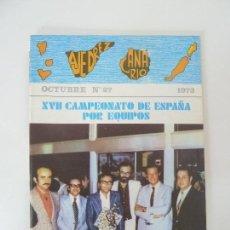 Collectionnisme sportif: AJEDREZ CANARIO. Nº 27. Lote 92191140