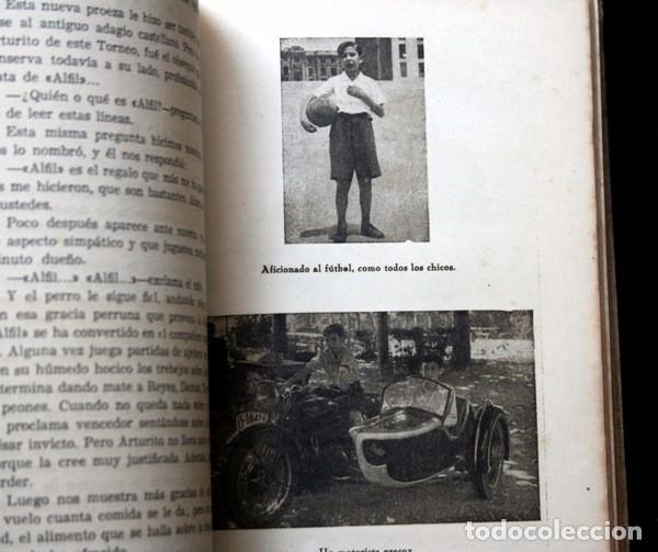Coleccionismo deportivo: LA VIDA DE ARTURITO POMAR - SUS MEJORES PARTIDAS - JUAN M. FUENTES / JULIO GANZO - ILUSTRADO - Foto 3 - 92882515