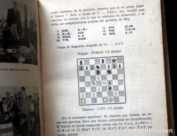 Coleccionismo deportivo: LA VIDA DE ARTURITO POMAR - SUS MEJORES PARTIDAS - JUAN M. FUENTES / JULIO GANZO - ILUSTRADO - Foto 6 - 92882515