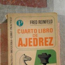 Coleccionismo deportivo: CUARTO LIBRO DE AJEDREZ - FRED REINFELD. Lote 94261495