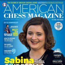 Coleccionismo deportivo: AJEDREZ. AMERICAN CHESS MAGAZINE. ISSUE NO. 3 - 2017 - THE CHESS INFORMANT TEAM. Lote 94296518