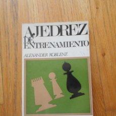 Coleccionismo deportivo: AJEDREZ DE ENTRENAMIENTO, ALEXANDER KOBLENZ. Lote 94300350
