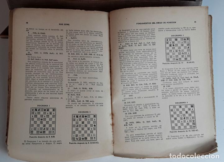 FUNDAMENTOS DEL JUEGO DE POSICIÓN. MAX EUWE. EDITORIAL GRABO. 1941. (Coleccionismo Deportivo - Libros de Ajedrez)