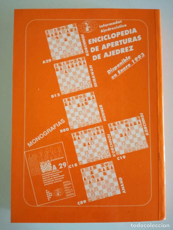 Coleccionismo deportivo: AJEDREZ. INFORMADOR AJEDRECÍSTICO - SAHOVSKI INFORMATOR 55 VI-IX 1992 FIDE CON TODAS LAS PARTIDAS - Foto 4 - 184682195