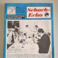 Coleccionismo deportivo: REVISTA AJEDREZ ALEMANA SCHACH-ECHO Nº 6 JUNIO 1990. Lote 97068203