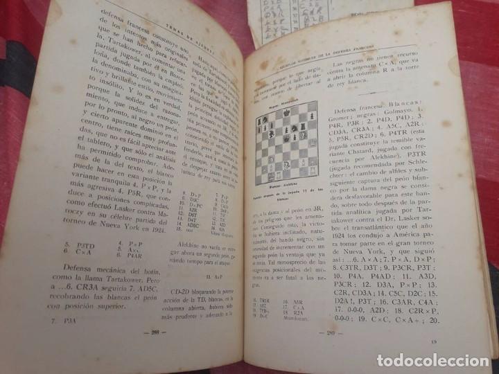Coleccionismo deportivo: LIBRO UNICO PARA COLECCIONISTAS, FIRMADO Y DEDICADO POR MANUEL GOLMAYO-TEMAS DE AJEDREZ-1947 - Foto 3 - 97835411