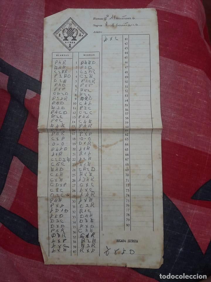 Coleccionismo deportivo: LIBRO UNICO PARA COLECCIONISTAS, FIRMADO Y DEDICADO POR MANUEL GOLMAYO-TEMAS DE AJEDREZ-1947 - Foto 8 - 97835411