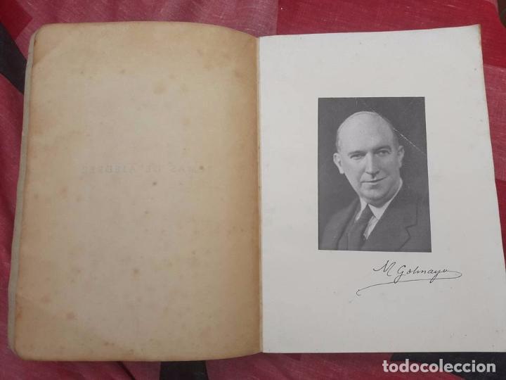 Coleccionismo deportivo: LIBRO UNICO PARA COLECCIONISTAS, FIRMADO Y DEDICADO POR MANUEL GOLMAYO-TEMAS DE AJEDREZ-1947 - Foto 12 - 97835411
