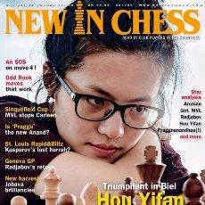 Coleccionismo deportivo: AJEDREZ. REVISTA. MAGAZINE NEW IN CHESS 2017/6. Lote 98395707