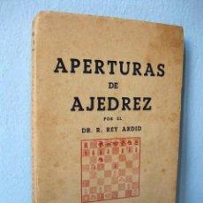 Coleccionismo deportivo: LIBRO APERTURAS DE AJEDREZ, TOMO I: LA APERTURA ESPAÑOLA (DR. R. REY ARDID) LLIBRE ESCACS ESCAQUES. Lote 98614431