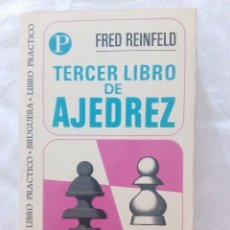 Coleccionismo deportivo: TERCER LIBRO DE AJEDREZ. Lote 98786115