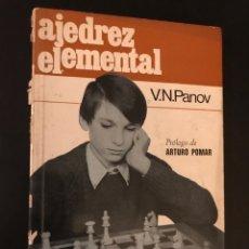 Coleccionismo deportivo - Ajedrez elemental. V.N.Panov - 99415283