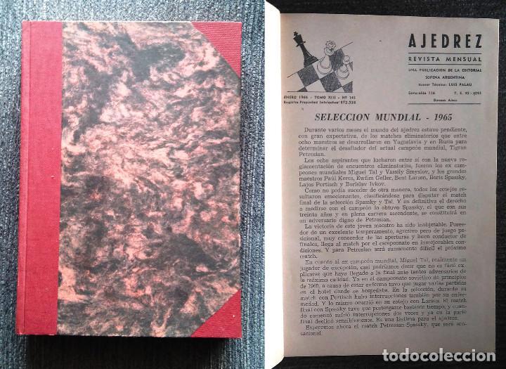 ?? REVISTA AJEDREZ (SOPENA) AÑO 1966 COMPLETO CHESS SCHACH (Coleccionismo Deportivo - Libros de Ajedrez)
