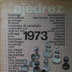 Coleccionismo deportivo: AJEDREZ 1973 JULIO GANZO. Lote 112478002