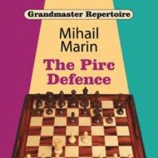 Coleccionismo deportivo: AJEDREZ. CHESS. GRANDMASTER REPERTOIRE. THE PIRC DEFENCE - MIHAIL MARIN (CARTONÉ). Lote 103167103