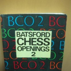 Coleccionismo deportivo: BATSFORD CHESS OPENINGS 2. GARY KASPAROV - RAYMOND KEENE. BATSFORD CHESS BOOK. 1989.. Lote 103378543