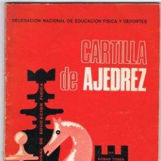 Coleccionismo deportivo - Cartilla de Ajedrez - Roman Toran - 103426323