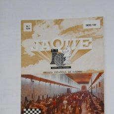 Coleccionismo deportivo: LIBRO REVISTA ESPAÑOLA DE AJEDREZ. JAQUE. Nº 109. ENERO 1981. CAMPEONATO DE MALTA 1980. TDKR12. Lote 105931519