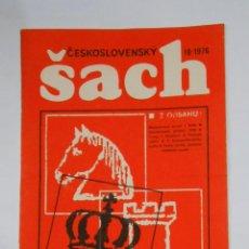 Coleccionismo deportivo: SACH. OCTUBRE 1976. CESKOSLOVENSKY. TDKR12. Lote 105934595
