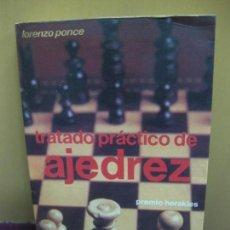 Coleccionismo deportivo - TRATADO PRACTICO DE AJEDREZ. LORENZO PONCE. EDITORIAL HISPANO EUROPEA 1986 - 107030031