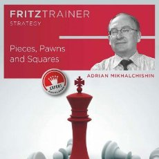 Coleccionismo deportivo: AJEDREZ. CHESS. PIECES, PAWNS AND SQUARES - ADRIAN MIKHALCHISHIN DVD. Lote 109044295