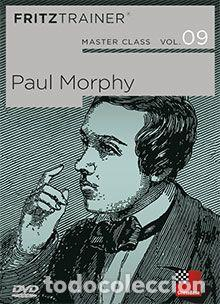 AJEDREZ. CHESS. MASTER CLASS VOL. 9. PAUL MORPHY - THE CHESSBASE TEAM DVD (Coleccionismo Deportivo - Libros de Ajedrez)