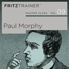 Coleccionismo deportivo: AJEDREZ. CHESS. MASTER CLASS VOL. 9. PAUL MORPHY - THE CHESSBASE TEAM DVD. Lote 109086135