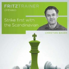 Coleccionismo deportivo: AJEDREZ. CHESS. STRIKE FIRST WITH THE SCANDINAVIAN - CHRISTIAN BAUER DVD. Lote 109099007