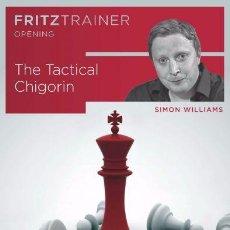 Coleccionismo deportivo: AJEDREZ. CHESS. THE TACTICAL CHIGORIN - SIMON WILLIAMS DVD. Lote 109117939