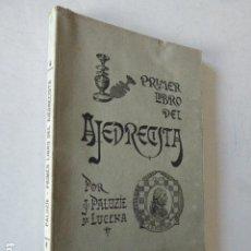 Coleccionismo deportivo: PRIMER LIBRO DEL AJEDREZ. J. PALUZIE Y LUCENA. IMP. ELZEVIRIANA, 1942. 206 PP.. Lote 109366259