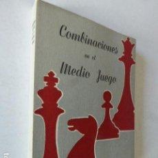 Coleccionismo deportivo: COMBINACIONES EN EL MEDIO JUEGO. KURT RICHTER. ED. GRABO, 1947. 196 PP. . Lote 109366723