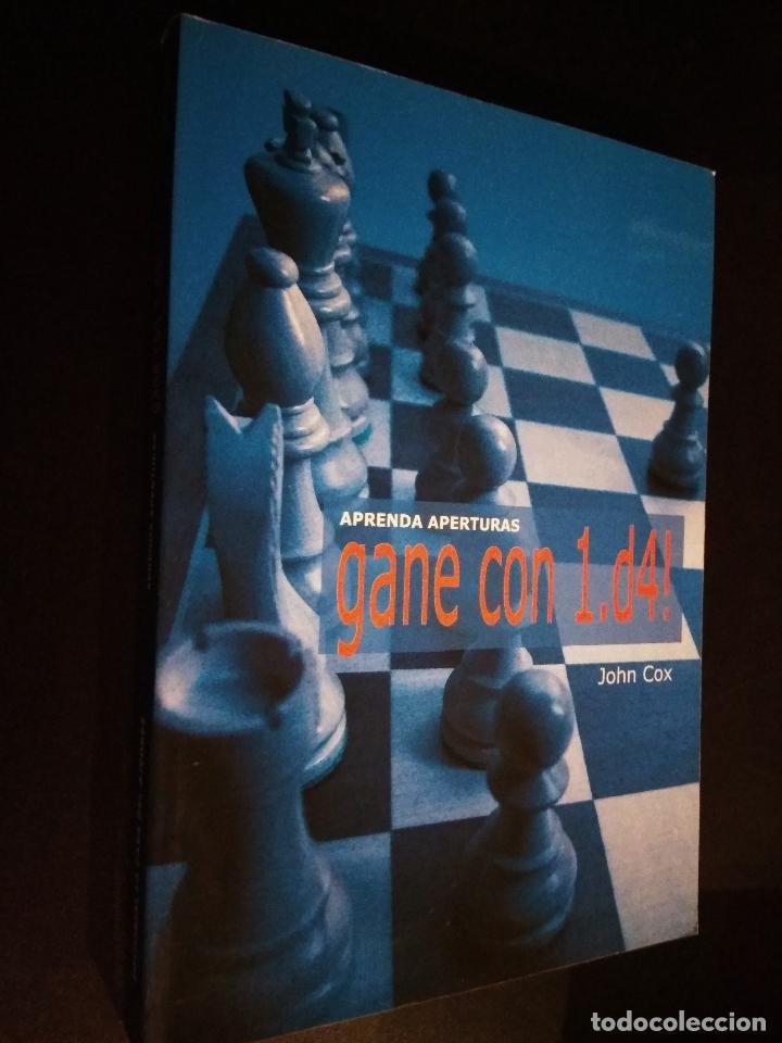 AJEDREZ. APRENDA APERTURAS. GANE CON 1.D4! - JOHN COX (Coleccionismo Deportivo - Libros de Ajedrez)