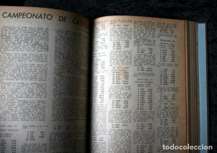 Coleccionismo deportivo: AJEDREZ ESPAÑOL - 1950 - 1951 - 24 números - OPORTUNIDAD UNICA - RARO - - Foto 2 - 111331575