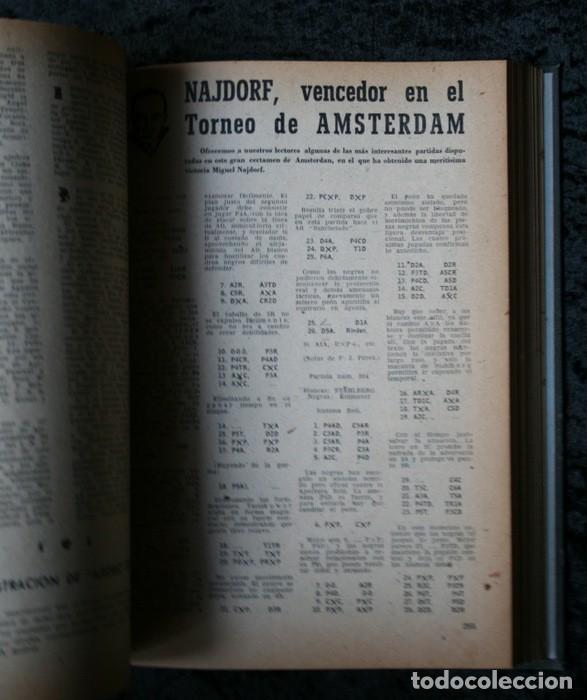 Coleccionismo deportivo: AJEDREZ ESPAÑOL - 1950 - 1951 - 24 números - OPORTUNIDAD UNICA - RARO - - Foto 5 - 111331575