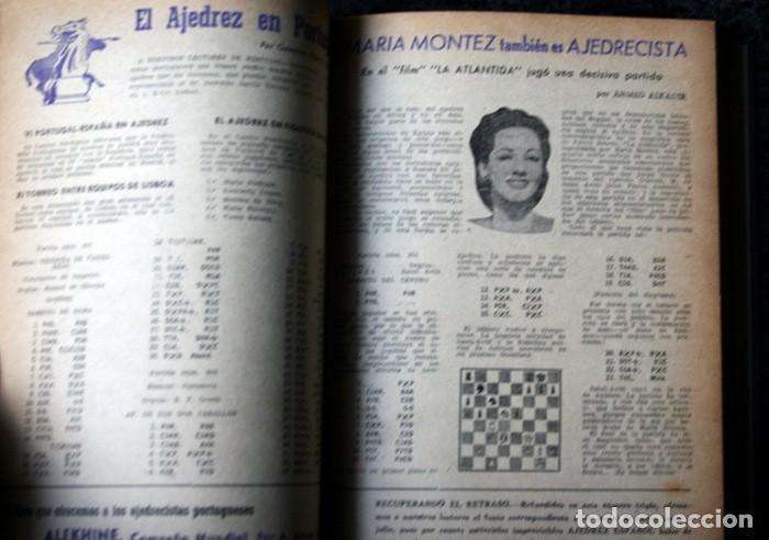 Coleccionismo deportivo: AJEDREZ ESPAÑOL - 1950 - 1951 - 24 números - OPORTUNIDAD UNICA - RARO - - Foto 6 - 111331575