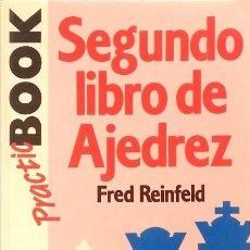 Coleccionismo deportivo: SEGUNDO LIBRO DE AJEDREZ - FRED REINFELD. Lote 111449155